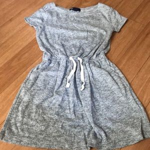 Cute little lightweight sweat dress size 6/7